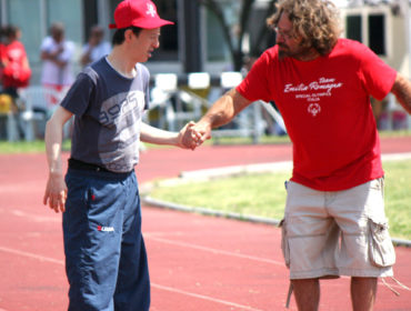 Roberto partecipa a special olimpics